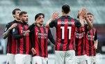 E na Itália, se a briga pelo título parece caminhar para a conquista da Internazionale, o Milan mostrou força na luta por uma vaga na Liga dos Campeões. O clube rossonero venceu o Benevento por 2 a 0, com gols deÇalhanoğlu e Theo Hernández, e foi a 69 pontos