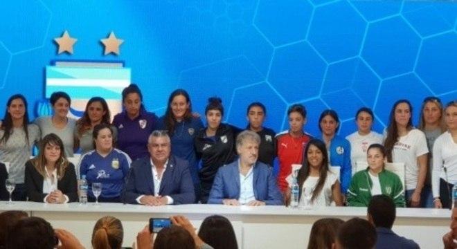 O próximo Campeonato Argentino vai ser profissional