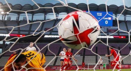 Canadá bateu os Estados Unidos na semifinal