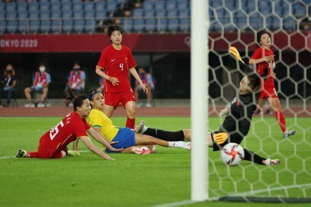 Aos 43,Bia Zaneratto fez o quinto gol brasileiro, e fechou o placar. 5 a 0 para o Brasil. Na próxima rodada, o Brasil enfrenta a Holanda,no próximo sábado, às 8h