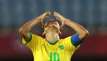 Brasil perde nos pênaltis e está eliminado do futebol feminino