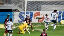 Acabou o fôlego. E o Brasileiro para o Palmeiras. 2 a 0 Fla