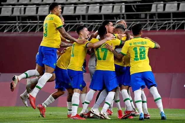 FUTEBOL MASCULINO - O Brasil está na final do futebol masculino. Finalista em Londres-2012 e Rio-2016, a Seleção Brasileira garantiu vaga na decisão em Tóquio-2020 após derrotar o México por 4 a 1, nos pênaltis.