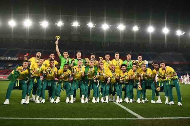 FUTEBOL MASCULINO - O Brasil venceu a Espanha por 2 a 1, na prorrogação, e conquistou a sua segunda medalha de ouro na história das Olimpíadas. Matheus Cunha e Malcom marcaram os gols dos brasileiros, enquanto Oyarzabal descontou para os espanhóis.