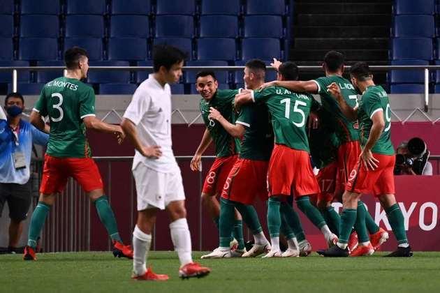 FUTEBOL MASCULINO - O México venceu o Japão por 3 a 1 e conquistou a medalha de bronze. É a segunda medalha dos mexicanos na história das Olimpíadas (a outra foi o ouro contra o Brasil em Londres-2012).