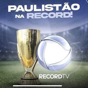 Record vai transmitir o futebol de São Paulo