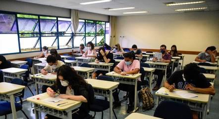 Estudantes terão aulões de reforço
