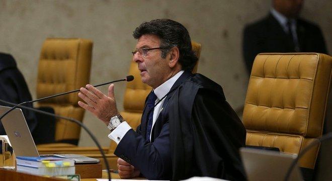 Ministro Luiz Fux votou a favor da prisão após 2ª instância