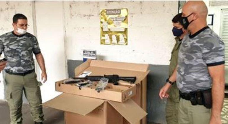 Secretaria de Administração Penitenciária de SP recebe fuzis para escolta em presídios