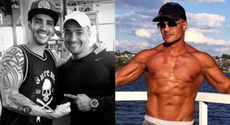 Cantor sertanejo lamentou a morte do amigo e personal treiner em publicação na web