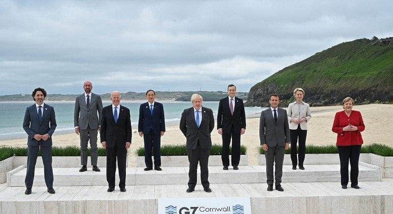 G7: líderes das sete maiores economias do mundo estão reunidos na Inglaterra