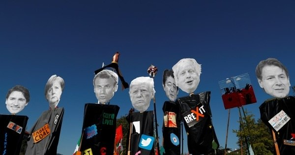 Marcha contra cúpula do G7 reúne milhares de pessoas
