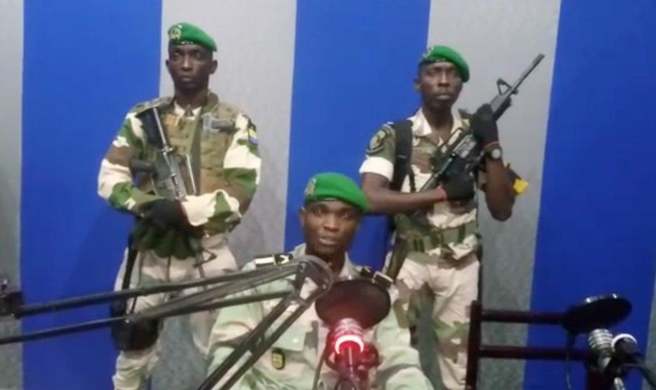 Gabão prende 4 militares por tentativa de golpe de Estado