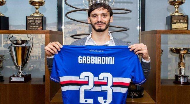 Gabbiadini, um dos dez infectados da Samp recordista