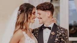 Grávida e recém-casada, Gabi Brandt antecipa lua de mel com Saulo Poncio ()