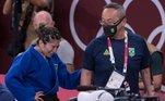 Brasil sofre com favoritos no primeiro dia do judô em Tóquio.GabrielaChibana e Eric Takabatake são eliminados nas oitavas de final