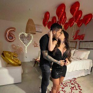 Gabi e Tierry completam 6 meses de namoro