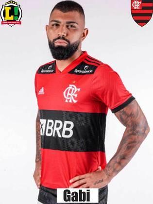 GABI - NOTA 7,0 - O gol não veio, mas o camisa 9 foi, mais uma vez, muito importante para a construção de mais um placar positivo para o Flamengo. Deu mais uma assistência e dificultou a vida da defesa do Furacão através de movimentações.