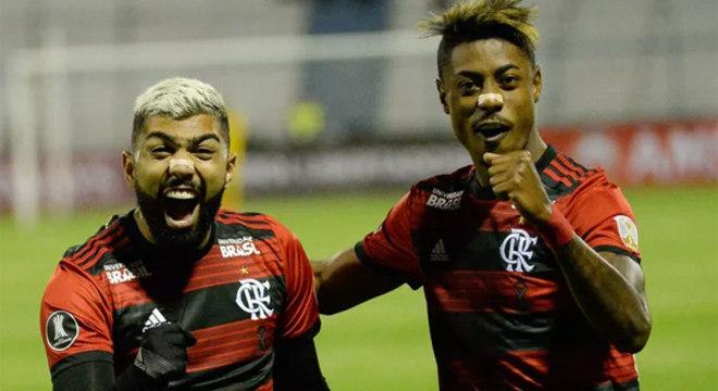 Gabigol e Bruno Henrique. Teriam chances verdadeiras no time de Tite