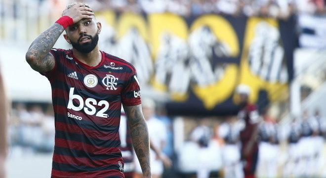 Gabigol teve coragem e mostrou a dor e o medo do time do Flamengo