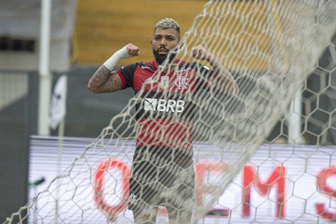 Gabigol continua eficiente. E deu a sofrida vitória ao Flamengo