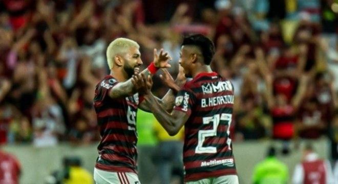 Gabigol e Bruno Henrique destaques em 2019