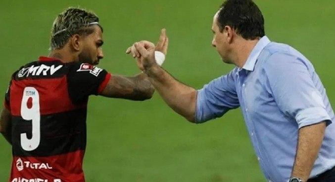 Gabigol e Ceni estão estragando ambiente no Flamengo. Na reta final do Brasileiro