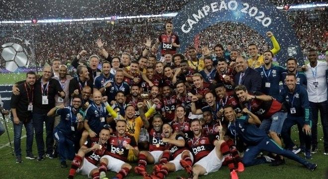 Flamengo conquistou a Recopa e ergueu sua terceira taça em 2020