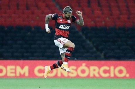 Gabigol fez primeiro gol após longo período machucado