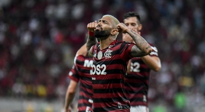 Gabigol fez um gol espetacular. Flamengo mereceu vencer o primeiro turno
