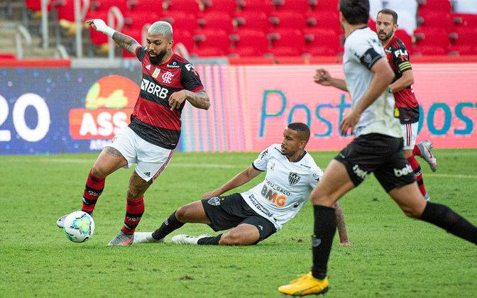 GABIGOL - Flamengo (CAPITÃO) (C$ 9,42) - O artilheiro dos dois últimos Brasileirões tem boas chances de deixar sua marca diante de um Atlético Goianiense sem ritimo. Seus 3 pontos sem gol ou assistência na estreia demonstram um bom potencial para passar dos 10 pontos em caso de gol!