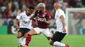 __Athletico vence Flamengo nos pênaltis e pega Grêmio na semifi__ (André Melo Andrade/Estadão Conteúdo - 17.7.2019)