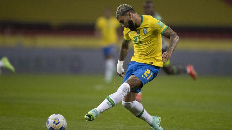 GABIGOL - Opção nas Eliminatórias e na Copa América, pode manter sua boa sequência com Tite nesta sexta-feira.