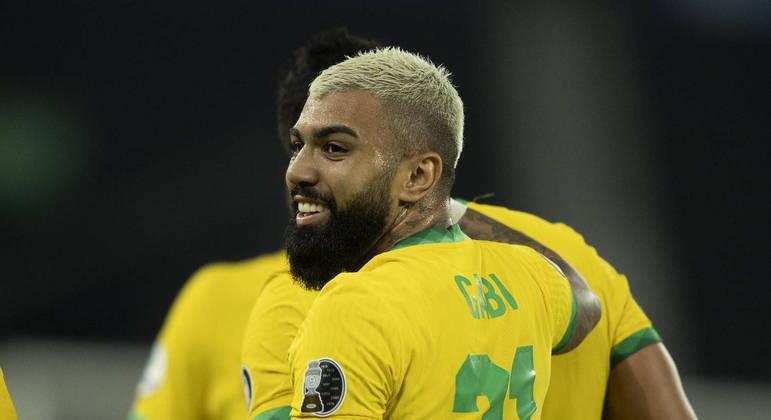 Em ótima fase no Flamengo, Gabigol celebra convocação para seleção brasileira