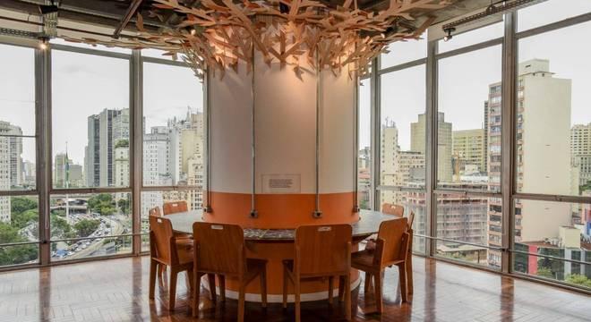 Na foto, gabinete de Janaina Lima (Novo) transformado em coworking