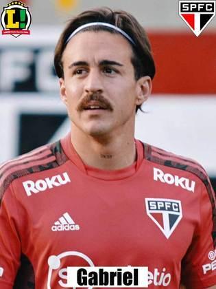Gabriel - 6,0 - Estreou pelo São Paulo e conseguiu, em alguns momentos, oxigenar a saída de bola. Tomou cartão amarelo.