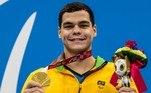 Gabriel Bandeira é ouro nos 100m borboleta classe S14 e bate recordeVEJA MAIS