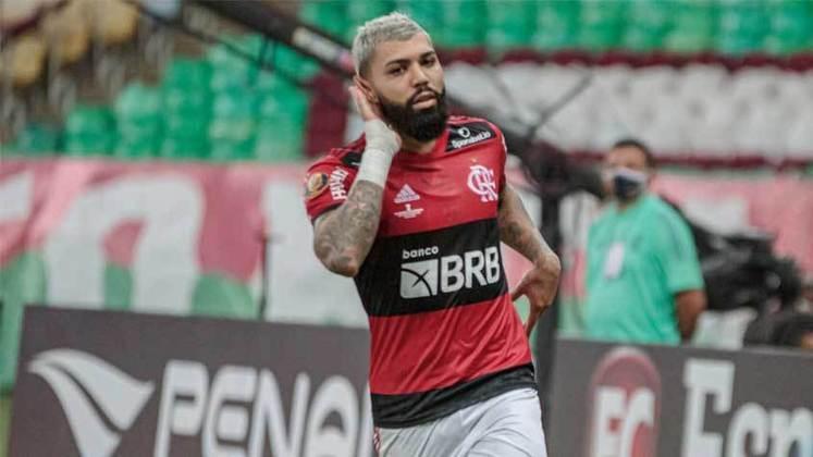 Gabriel Barbosa (24 anos) - Clube: Flamengo - Posição: atacante - Valor de mercado: 26 milhões de euros.
