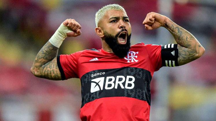 Gabriel Barbosa (atacante): Após uma passagem frustrada pela Europa, chegou ao Flamengo para fazer história e vai quebrando cada vez mais marcas no clube da Gávea e já sendo um personagem histórico para os torcedores.