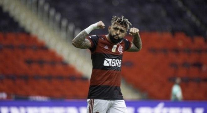 Gabriel Barbosa - Flamengo x Santos