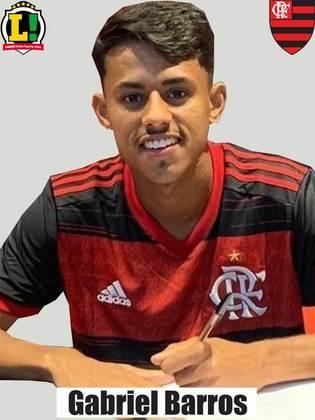 GABRIEL BARROS - 6,0 - Outro jovem que entrou após o intervalo e não conseguiu mudar o panorama da partida. Arriscou um chute, defendido por Luiz Henrique.
