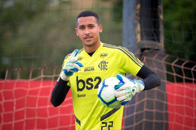 Gabriel Batista (21 anos) - Relacionado em 6 jogos / Atuou contra: Macaé, Vasco, Volta Redonda e Fluminense / Gols sofridos: 3