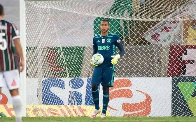 Gabriel Batista - Clube: Flamengo - Posição: goleiro - Idade: 23 anos - Jogos no Brasileirão 2021: 1
