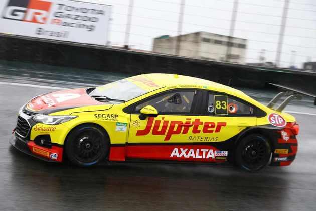 Gabriel Casagrande em ação na segunda etapa da Stock Car 2020, em Interlagos