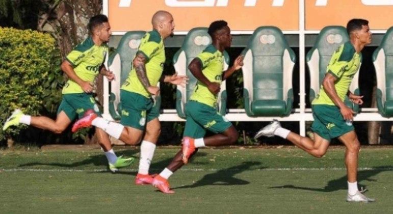 Gabriel Furtado treino Palmeiras