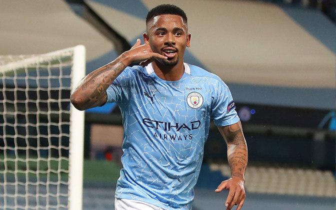 Gabriel Jesus é atacante da Seleção Brasileira e do Manchester City.