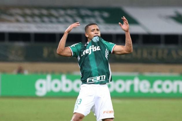 Gabriel Jesus: hoje no Manchester City, foi um dos nomes do Palmeiras na Copinha de 2015, quando marcou cinco gols e o clube chegou até a semifinal