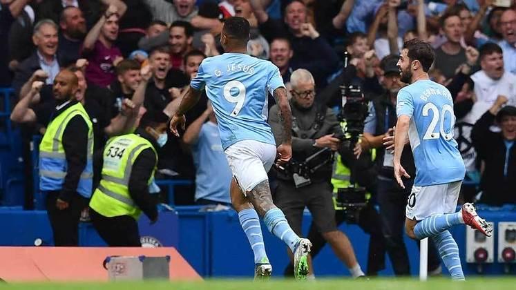 Gabriel Jesus: o atacante ex-palmeirense foi o cara da vitória por 1 a 0 do Manchester City no clássico contra o Chelsea. Ele marcou o único gol do jogo que garantiu o triunfo dos Citizens.