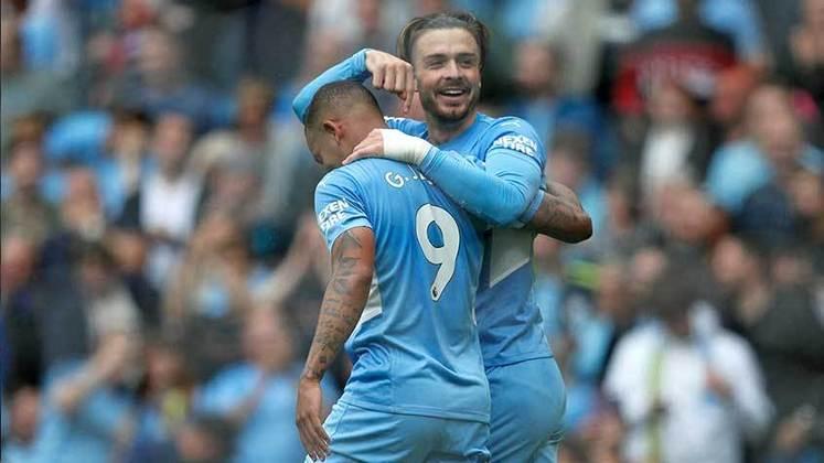 Gabriel Jesus: o Manchester City teve uma vitória importante diante do Leicester, mas Gabriel não deu sequência a sua boa fase, contribuindo pouco para sua equipe.
