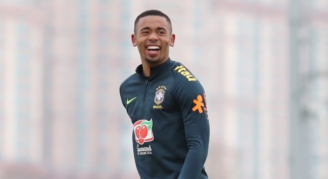 Gabriel Jesus será titular no ataque da seleção brasileira contra a Rússia
